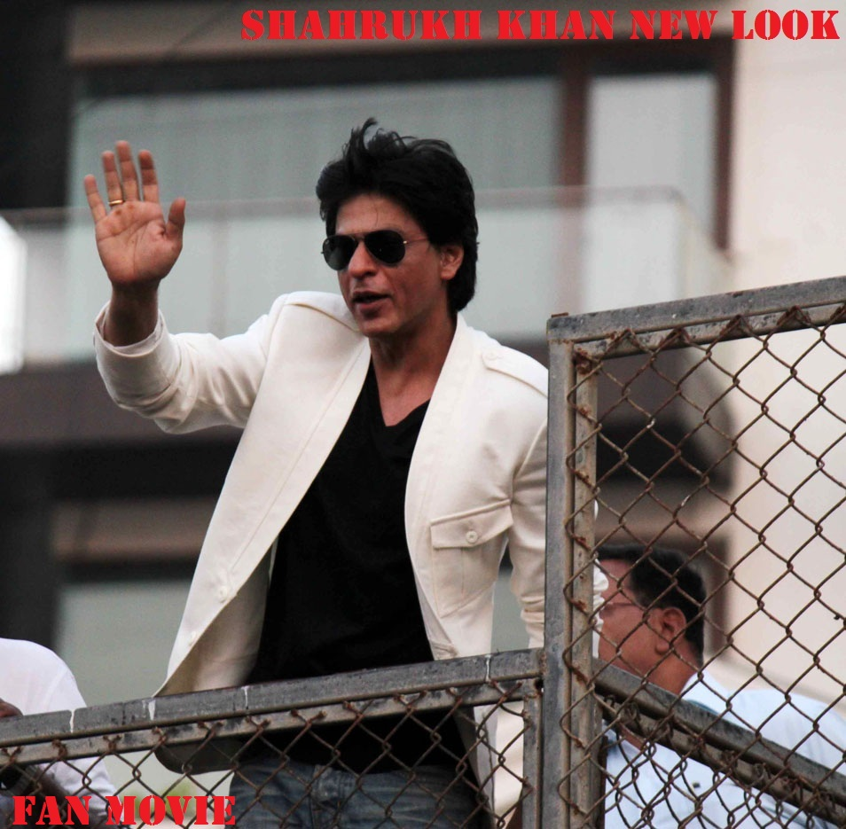 Shahrukh Khan New Look For Fan Film Poster