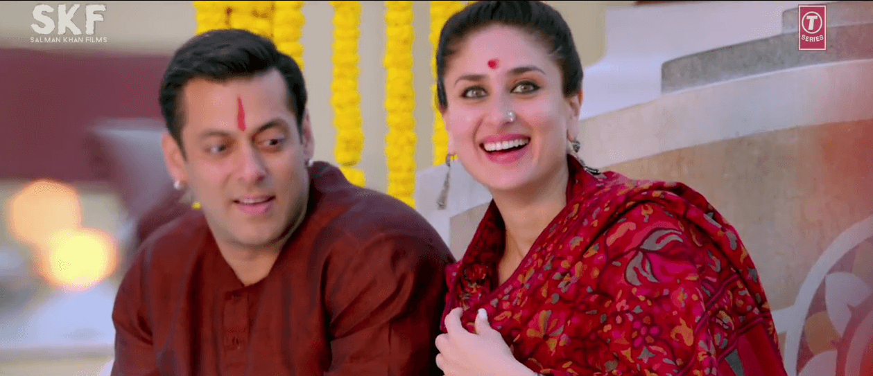 Salman Khan And Kareena Kapoor in Tu Chahiye Song