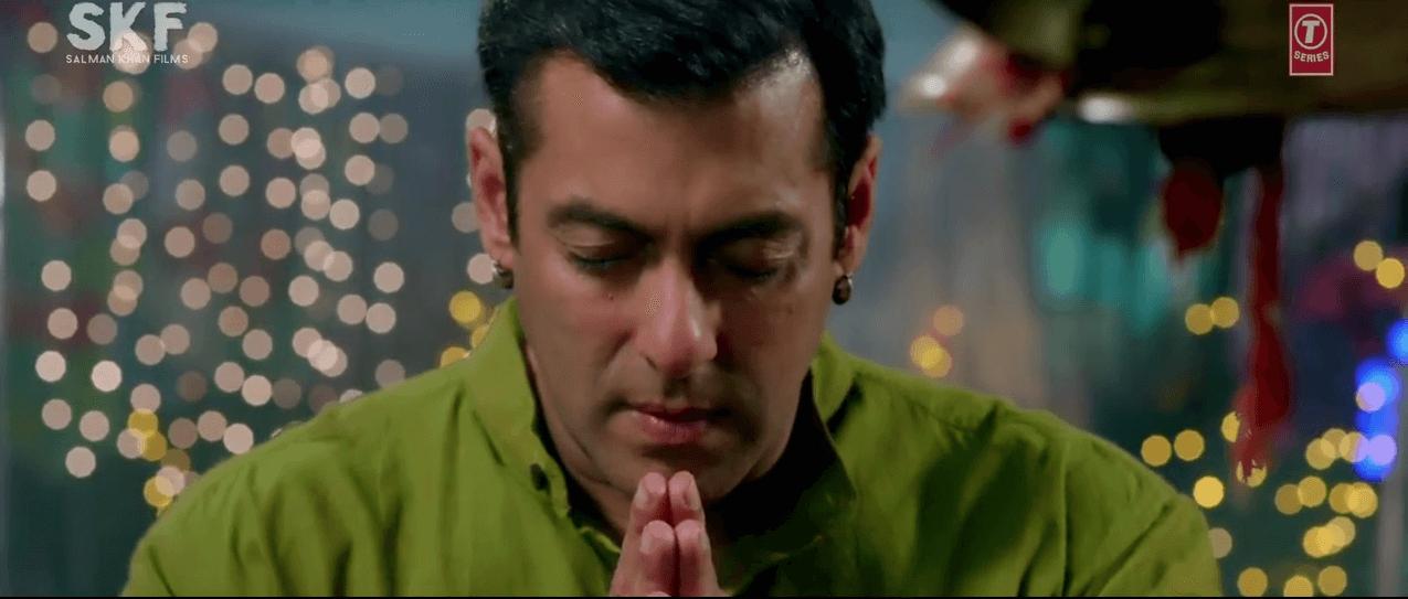 Salman Khan Pray Hanuman