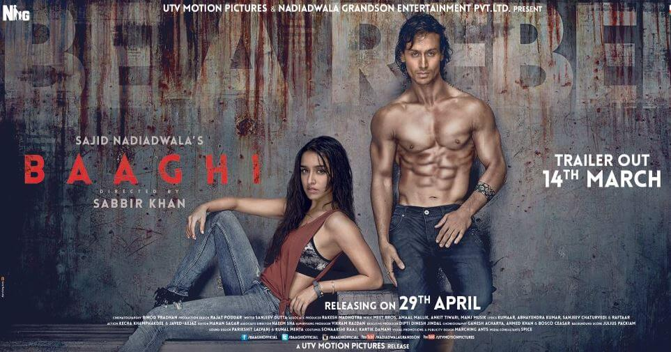 Baaghi Trailer HD Video