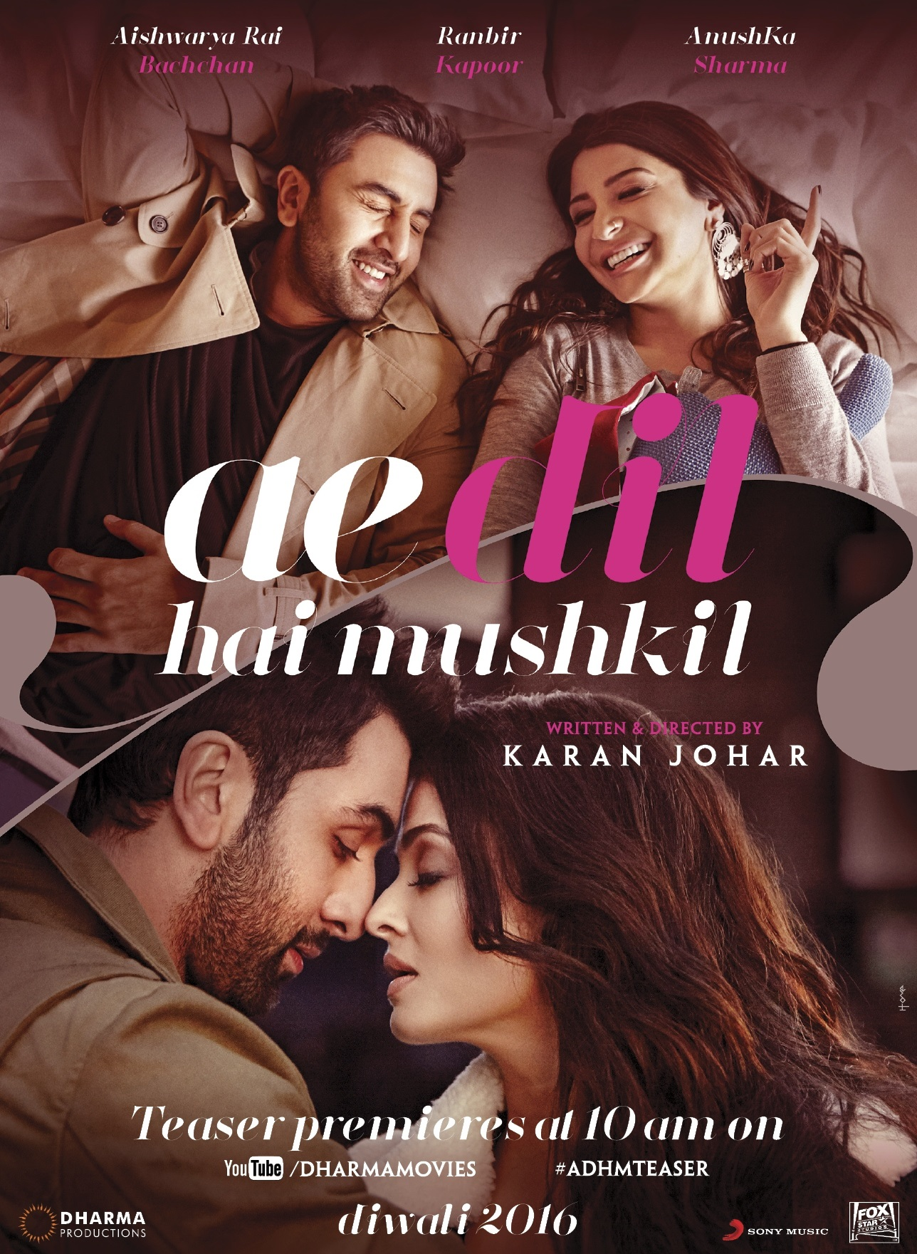 Ae Dil Hai Mushkil Teaser Video