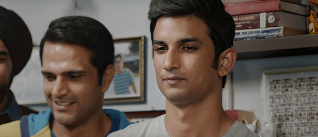 Sushant Singh Rajput Very Sad at Railway Ticket Check in Theatrical Trailer of M.S.Dhoni - The Untold Story (2016)