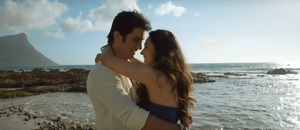 M.S.Dhoni And Sakshi Dhoni Romance (Sushant Singh Rajput And Kiara Advani In M.S.Dhoni - The Untold Story Official Theatrical Trailer