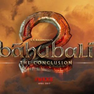Bahubali 2 Movie Logo poster