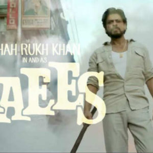 Raees Official Poster