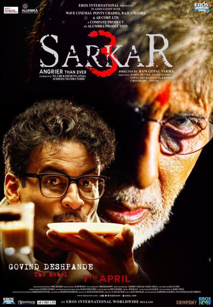sarkar-3-hd-video-poster